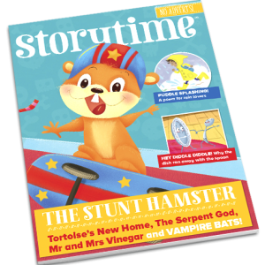 Storytime_kids_magazines_issue44_the_stunt_hamster current_www.storytimemagazine.com