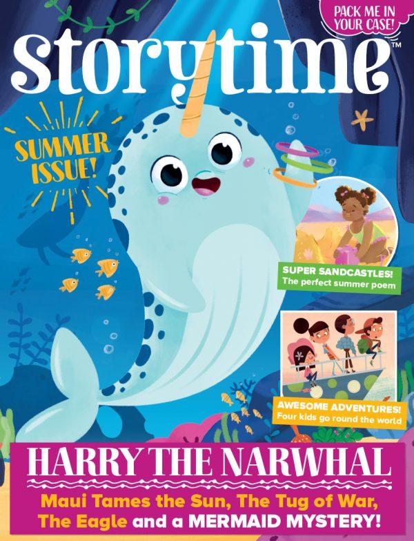 Storytime_kids_magazines_issue48_Harry_the_narwhal copy_www.storytimemagazine.com