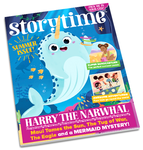 Storytime_kids_magazines_issue48_Harry_the_narwhal_magazine_www.storytimemagazine.com