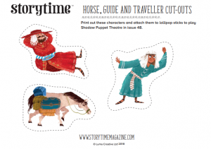 storytime_kids_magazines_free_printables_horse_guide_and_traveller_cutouts_www.storytimemagazine.com/free-downloads