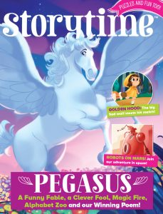 Pegasus, myths for kids, Greek myths, Storytime, Story magazine, magazine subscriptions for kids, 50 Stories to Read Before You're 10