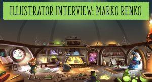 Illustrator Interview with Marko Renko, Marko Renko, Storytime magazine, storytime, kids magazine subscriptions, magazine subscriptions for kids