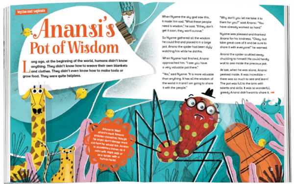 Storytime_kids_magazines_Issue51_Anansis_Pot_Of_Wisdom_stories_for_kids_www.storytimemagazine.com