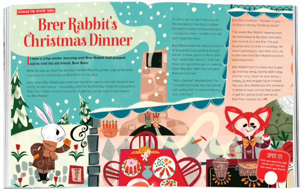 Storytime_kids_magazines_Issue52_brer_rabbit_christmas_dinner_stories_for_kids_www.storytimemagazine.com