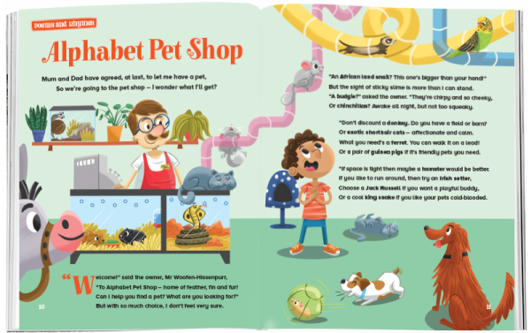 Storytime_kids_magazines_Issue53_Alphabet_Petshop_stories_for_kids_www.storytimemagazine.com