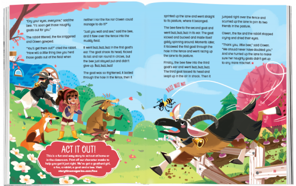 Storytime_kids_magazines_Issue53_The_Naughty_Goats_stories_for_kids_www.storytimemagazine.com