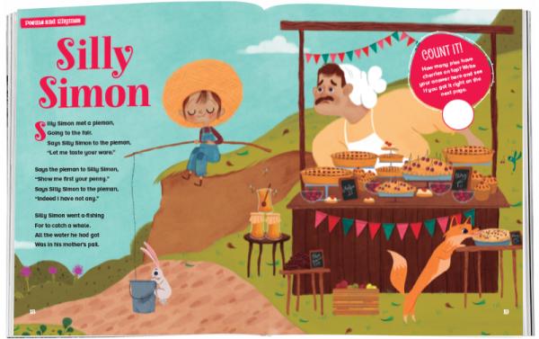 Storytime_kids_magazines_Issue54_silly_simon_stories_for_kids_www.storytimemagazine.com