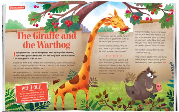 Storytime_kids_magazines_Issue54_thegiraffe_andthewartdog_stories_for_kids_www.storytimemagazine.com
