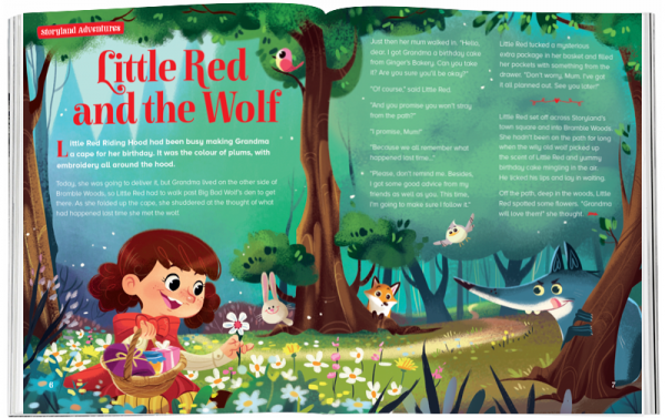 Storytime_kids_magazines_Issue55_Little_red_And_The Wolf_stories_for_kids_www.storytimemagazine.com