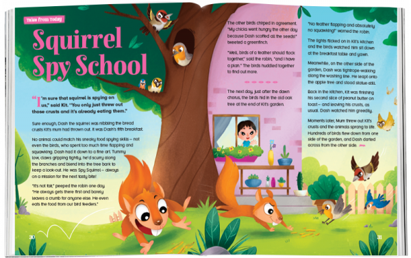 Storytime_kids_magazines_Issue55_Squirrel_Spy_School_stories_for_kids_www.storytimemagazine.com