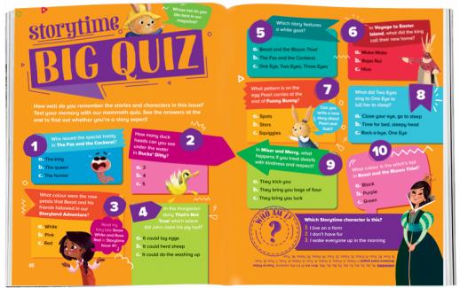 Storytime_kids_magazines_Issue56_big_quiz_stories_for_kids_www.storytimemagazine.com