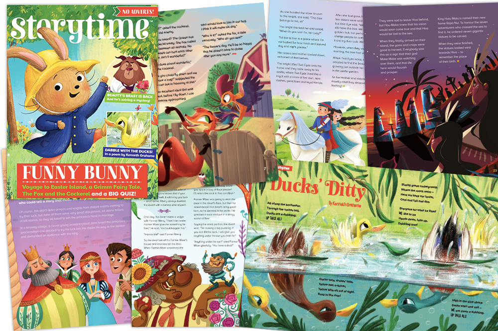 magazine subscriptions for kids, storytime issue 56 is out,