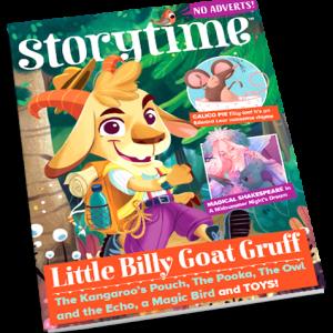 Storytime_kids_magazines_issue58_Little_Billy_Goat_Gruff_CURRENT_www.storytimemagazine.com/shop