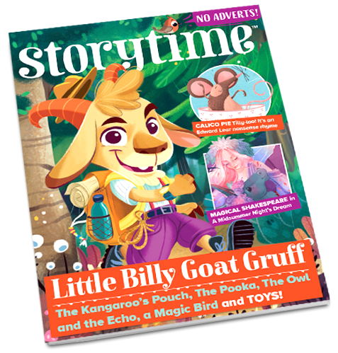 Storytime_kids_magazines_issue58_Little_Billy_Goat_Gruff_CURRENT_www.storytimemagazine.com/shop