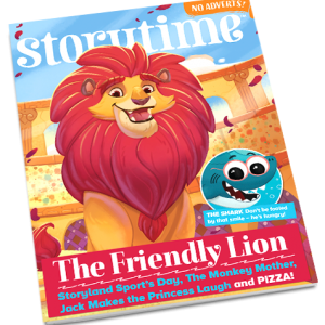 Storytime_kids_magazines_issue59_Friendly_Lion_back_issue_www.storytimemagazine.com