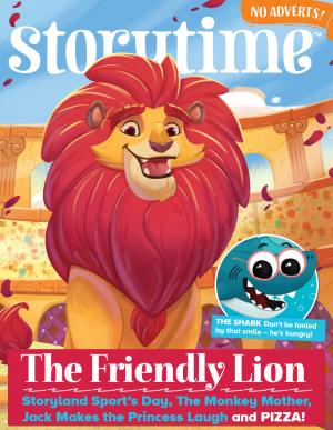 Storytime_kids_magazines_issue59_Friendly_Lion copy_www.storytimemagazine.com