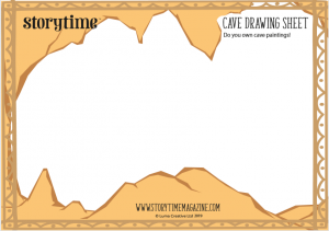 storytime-kids-magazine-free-download-cave-drawing_www.storytimemagazine.com/free-downloads