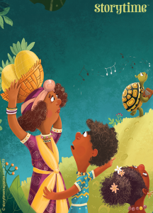 Storytime Issue 60, African fable, Singing Tortoise