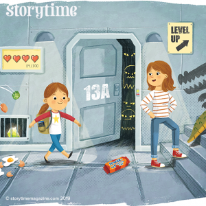 Storytime Issue 60, Level Up, Jenny Woods, Patrick Corrigan