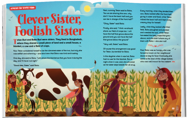 Storytime_kids_magazines_Issue60_clever_sister_stories_for_kids_www.storytimemagazine.com