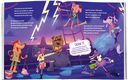 Storytime_kids_magazines_Issue61_the_pirate_poodle_stories_for_kids_www.storytimemagazine.com