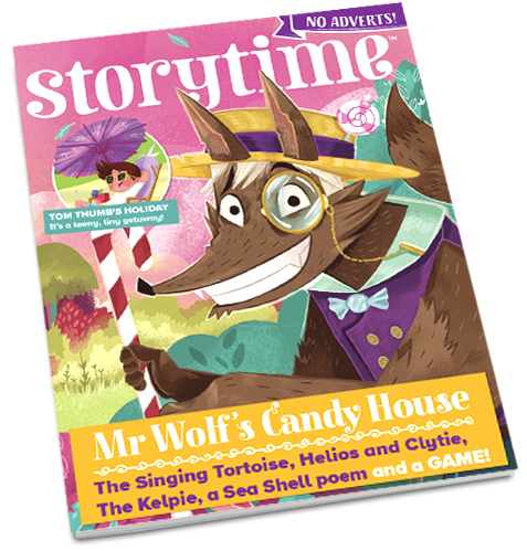 Storytime_kids_magazines_issue60_Mr_Wolf_Candy_House CURRENT_www.storytimemagazine.com