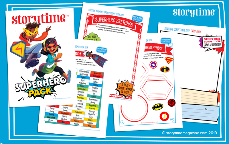 Storytime Issue 61, Storytime Superhero Competition,
