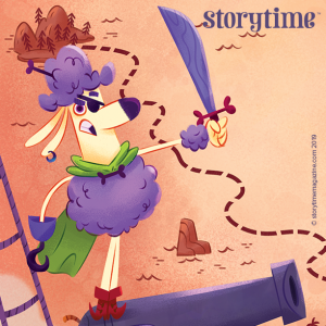 Storytime Issue 61, Pirate Poodle, Pirate poem