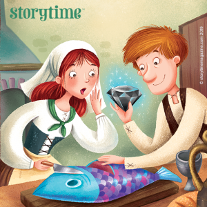 Storytime Issue 61, The Three Presents, Ludwig Beckstein, Fairytales for kids