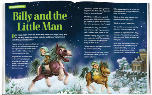 Storytime_kids_magazines_Issue62_Billy_and_the_little_man_stories_for_kids_www.storytimemagazine.com