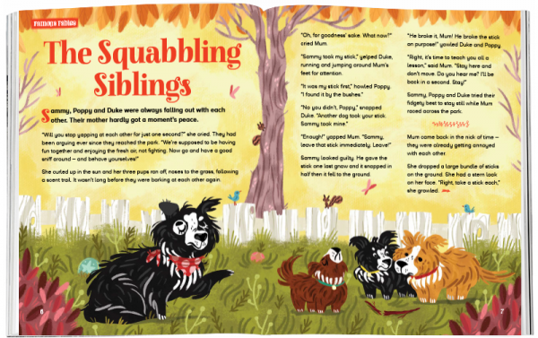 Storytime_kids_magazines_Issue62_squabbling_siblings_stories_for_kids_www.storytimemagazine.com