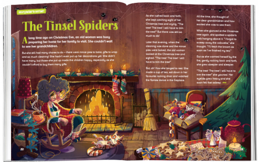 Storytime_kids_magazines_Issue64_tindel_spiders_stories_for_kids_www.storytimemagazine.com