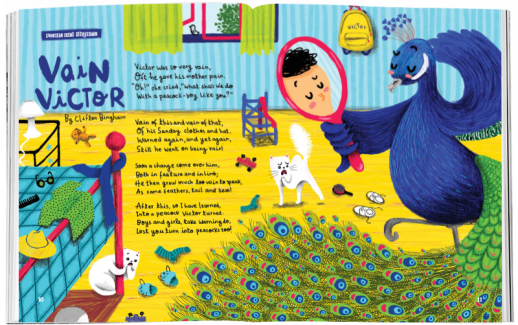Storytime_kids_magazines_Issue66_vain_victor_stories_for_kids_www.storytimemagazine.com