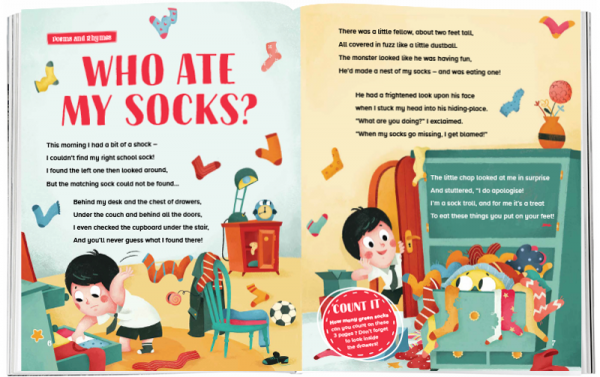 Storytime_kids_magazines_Issue69_who_ate_my_socks_stories_for_kids_www.storytimemagazine.com