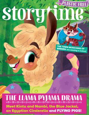 Storytime_kids_magazines_issue68_Llama_Pyjama_Drama copy_www.storytimemagazine.com