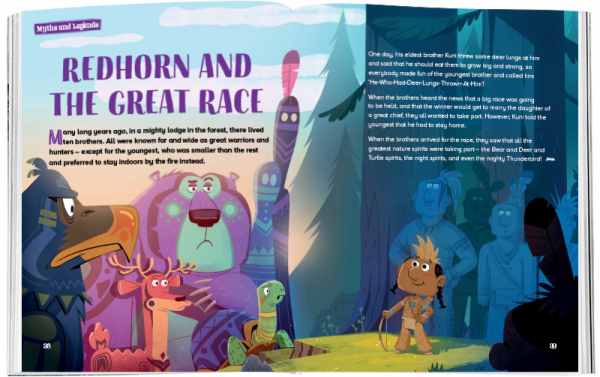 Storytime_kids_magazines_Issue70_redhorn_and_the_greatrace_stories_for_kids_www.storytimemagazine.com