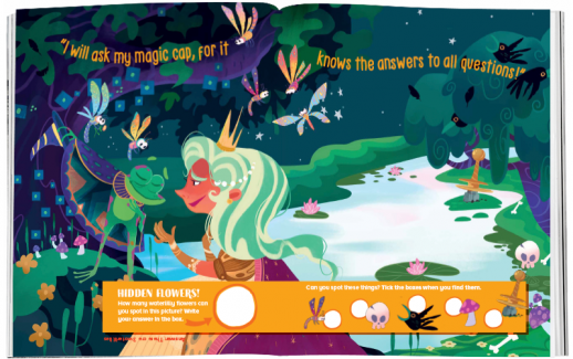 Storytime_kids_magazines_Issue72_frong_and_lion_fairy_stories_for_kids_www.storytimemagazine.com