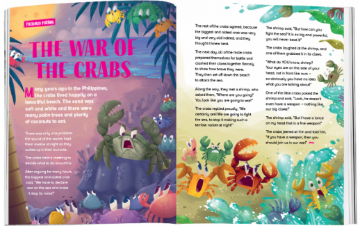 Storytime_kids_magazines_Issue73_thewarofcrab_stories_for_kids_www.storytimemagazine.com