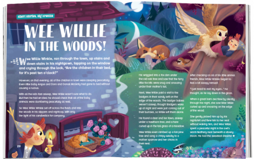 Storytime_kids_magazines_Issue74_Wee_Willie_In_The_Woods_stories_for_kids_www.storytimemagazine.com