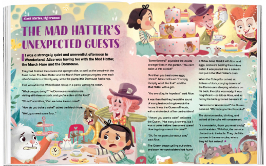 Storytime_kids_magazines_issue78_MadHatters_Guests_www.storytimemagazine.com