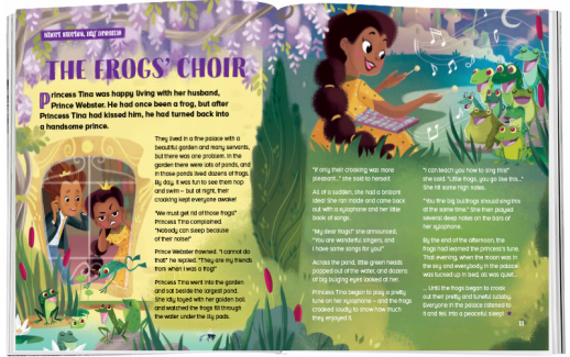 Storytime_kids_magazines_issue80_frogs_choir_www.storytimemagazine.com