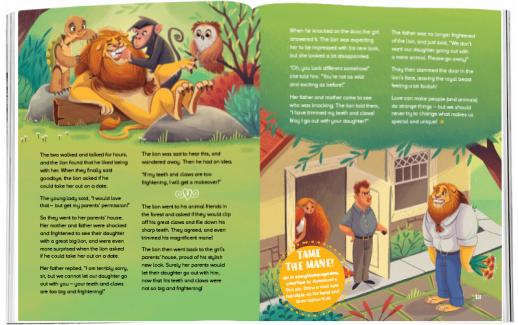 Storytime_kids_magazines_issue82_Thelioninlove_www.storytimemagazine.com